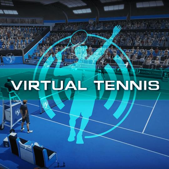Virtual Tennis Virtual Game Idle Screen