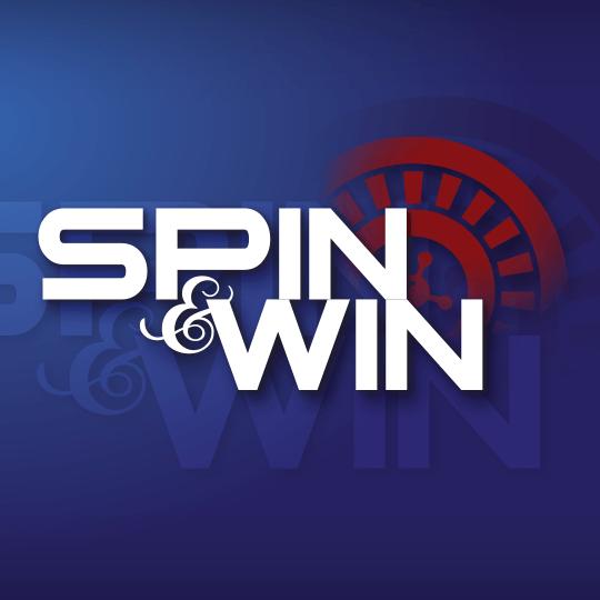 Spin & Win Virtual Game Idle Screen
