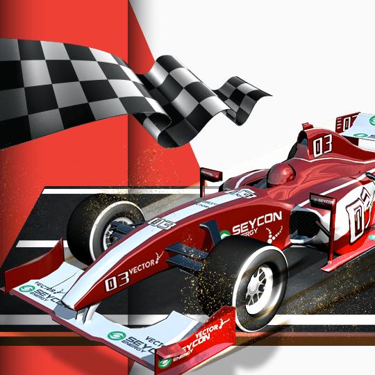 Virtual Single Seater Racing Virtual Game Idle Screen