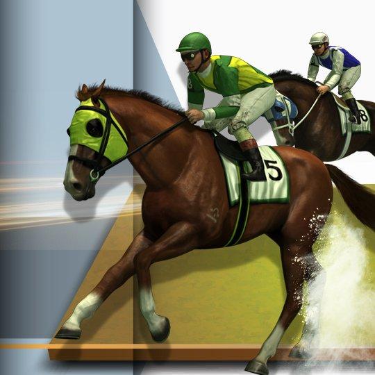 Virtual Horse Racing Virtual Game Idle Screen