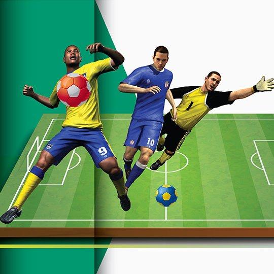 Fantastic League in League Mode Virtual Game Idle Screen