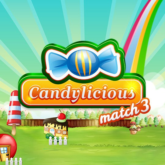 Candylicious Instant Win Game Loading Screen