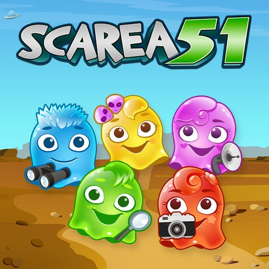 Scarea 51 Instant Win Game Idle Screen