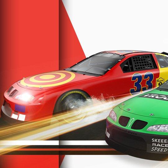 Virtual Motor Racing Virtual Game Idle Screen