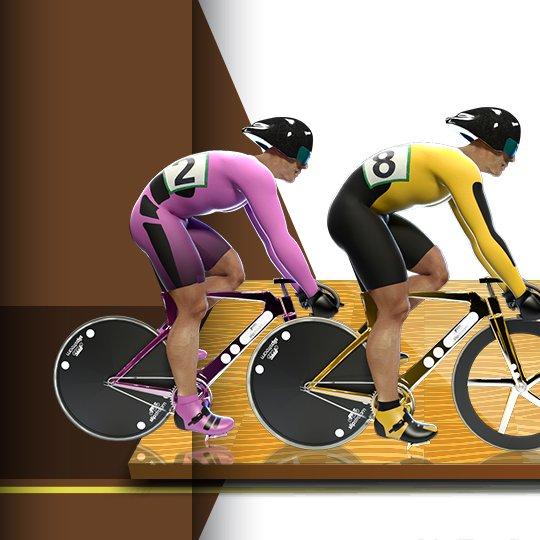 Virtual Cycling Virtual Game Idle Screen