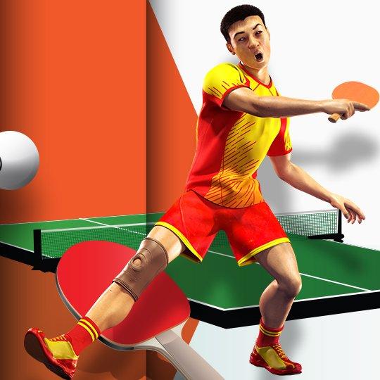 Virtual Table Tennis Virtual Game Idle Screen
