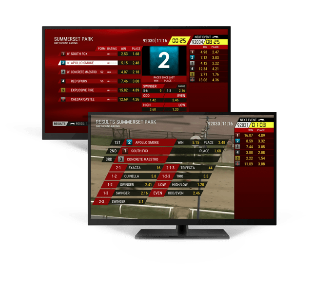 Betting Markets for Virtual Greyhound Racing
