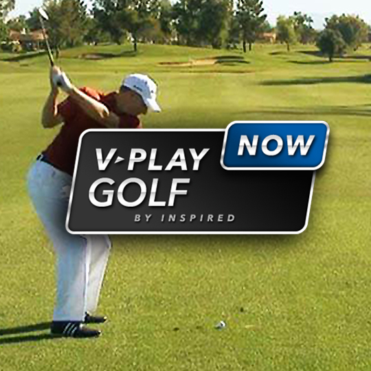 On-Demand Virtual Game Virtual Golf Intro Screen