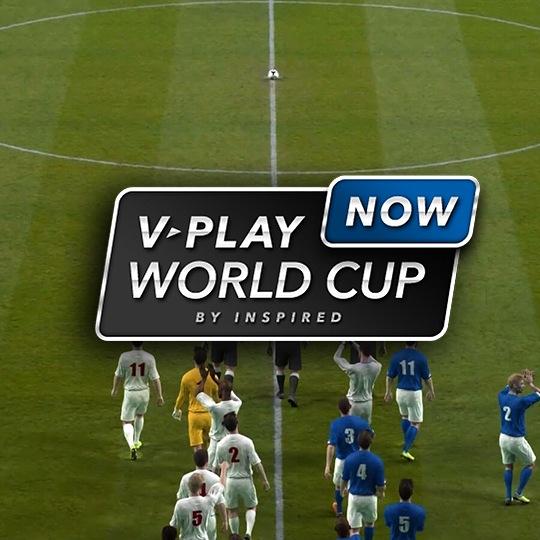 On-Demand Virtual Game Virtual World Cup Intro Screen