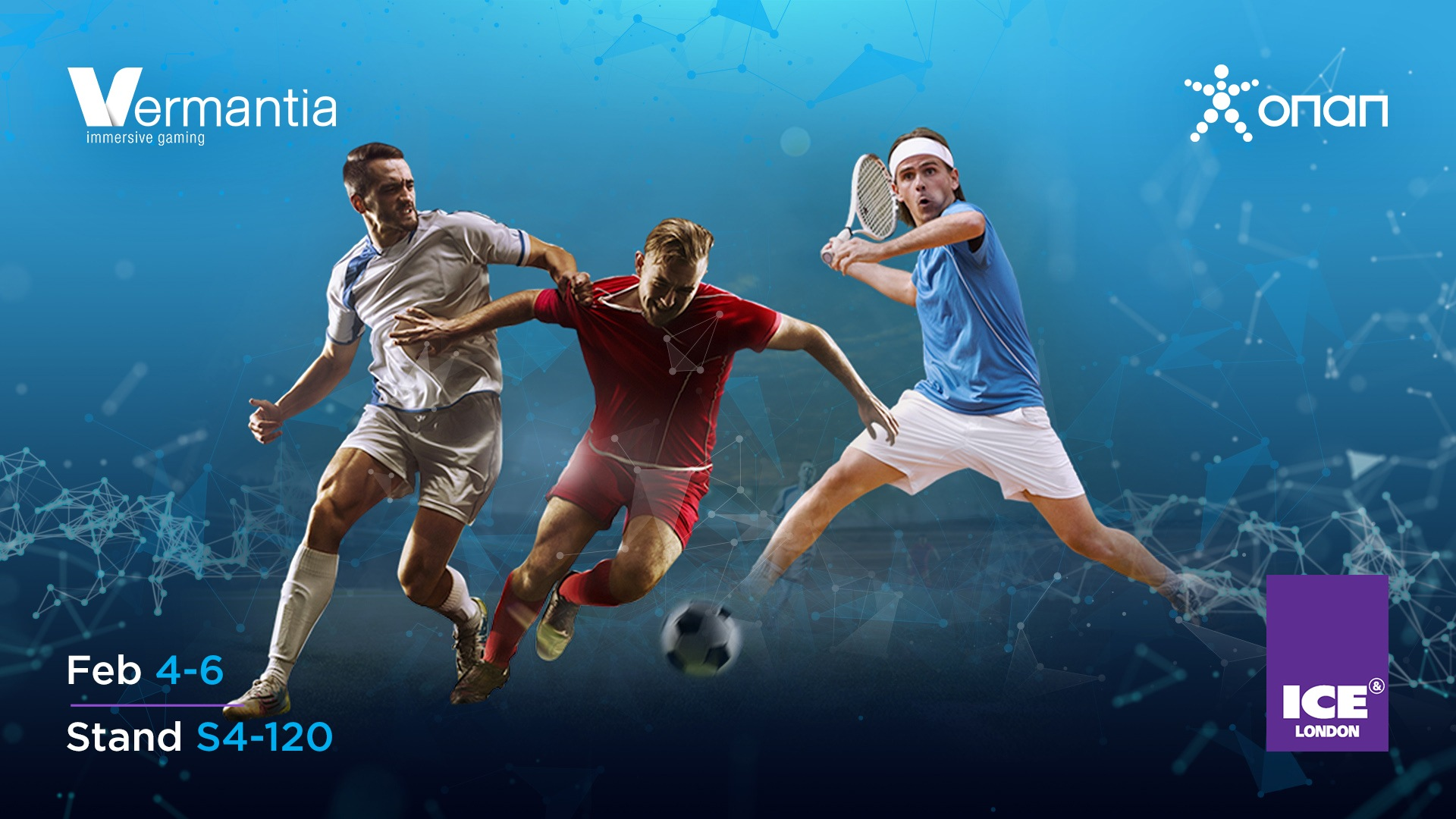 OPAP live with Vermantia's bespoke Live Sports Channel