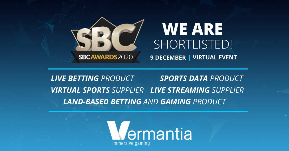 Vermantia receives 5 nominations at the 2020 SBC Awards