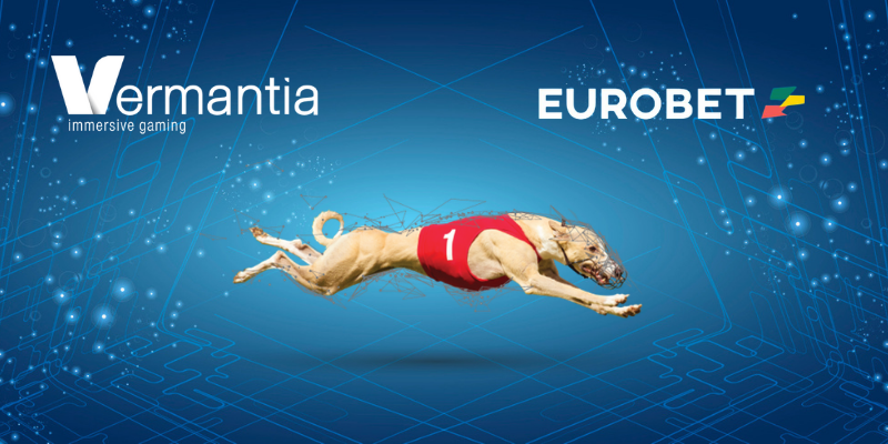 EUROBET has launched Vermantia's fully customised  Virtual Racing with premium real greyhound content